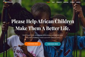 Chiller Theme Wordpress Creer Site Web Humanitaire