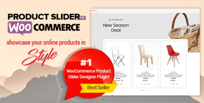 Product slider for woocommerce woo extension to showcase products plugin wordpress