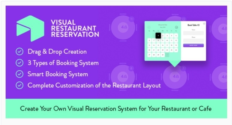 Visual restaurant reservation