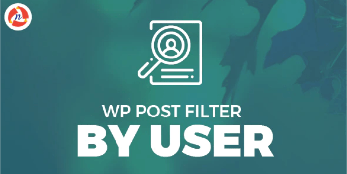 Wp post filter by user