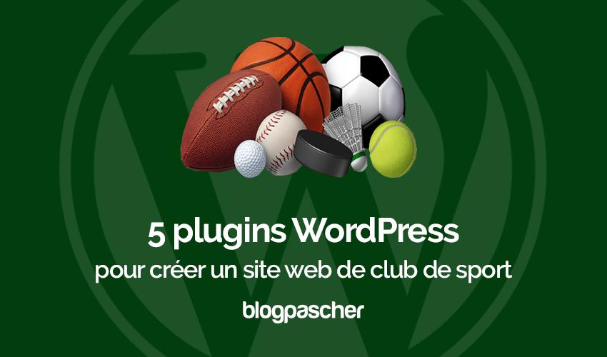 Plug-ins Maak een Wordpress Sport-website
