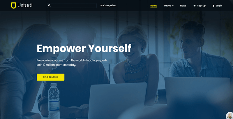 Ustudi theme wordpress creer site web e learning