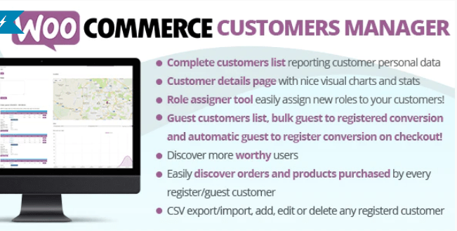 Woocommerce customers manager plugin wordpress