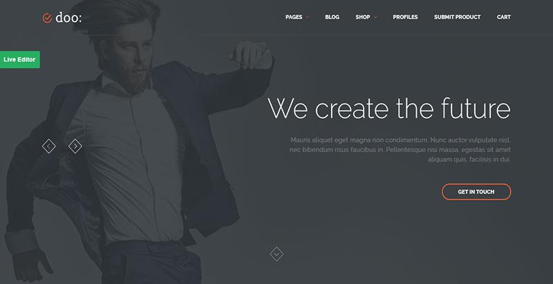 Doo thème wordpress premium creer boutique en ligne