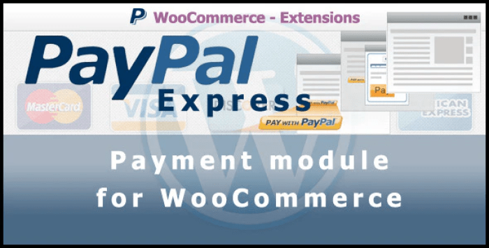Paypal express payment gateway for woocommerce plugin wordpress