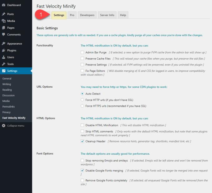 fast velocity reglages wordpress.png