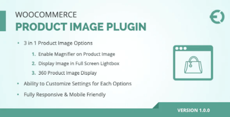 Woocommerce product image zoom plugin pour creer zoom