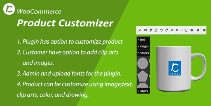 Woocommerce product customizer plugin wordpress