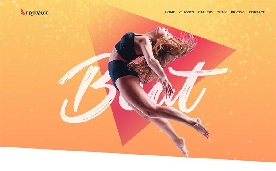 Flydance - Thème WordPress Elementor pour Cours de danse