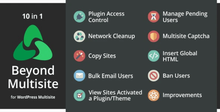 Beyond multisite utilities for wordpress network admins plugin wordpress