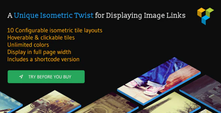 Isometric image tiles shortcode for wpbakery page builder formerly visual composer by gambittech