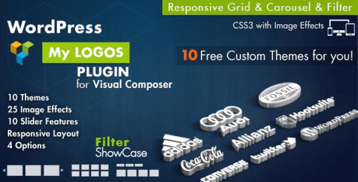 Logos showcase for visual composer wordpress plugin