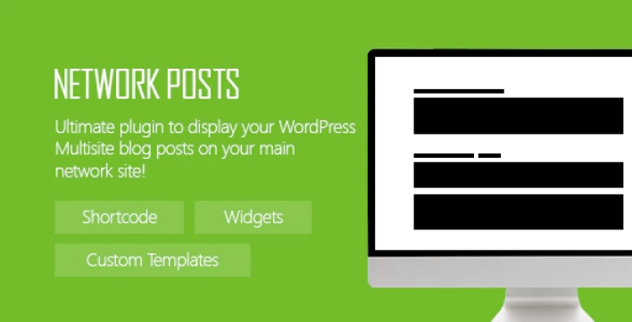 Network posts plugin wordpress