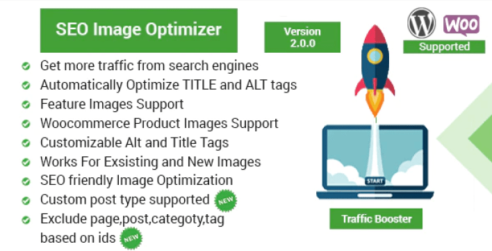 Seo image optimizer for wordpress woocommerce traffic booster plugin wordpress