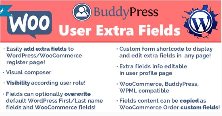 User extra fields plugin wordpess