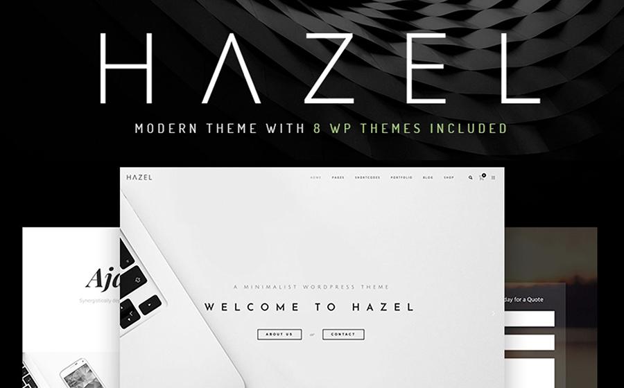 Hazel - Thème WordPress polyvalent et minimaliste