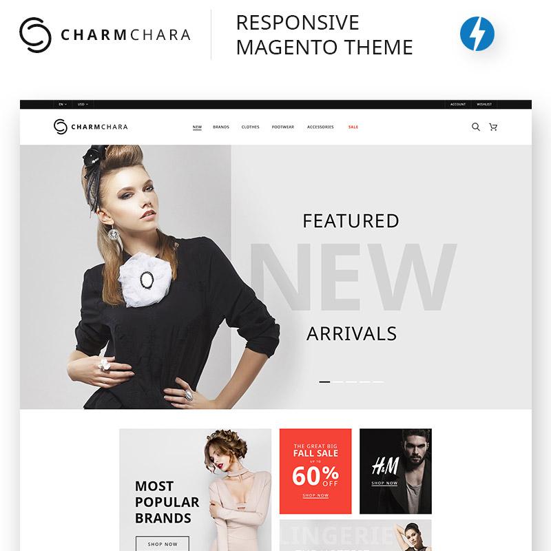 CharmChara – Thème Magento pour magasin de mode