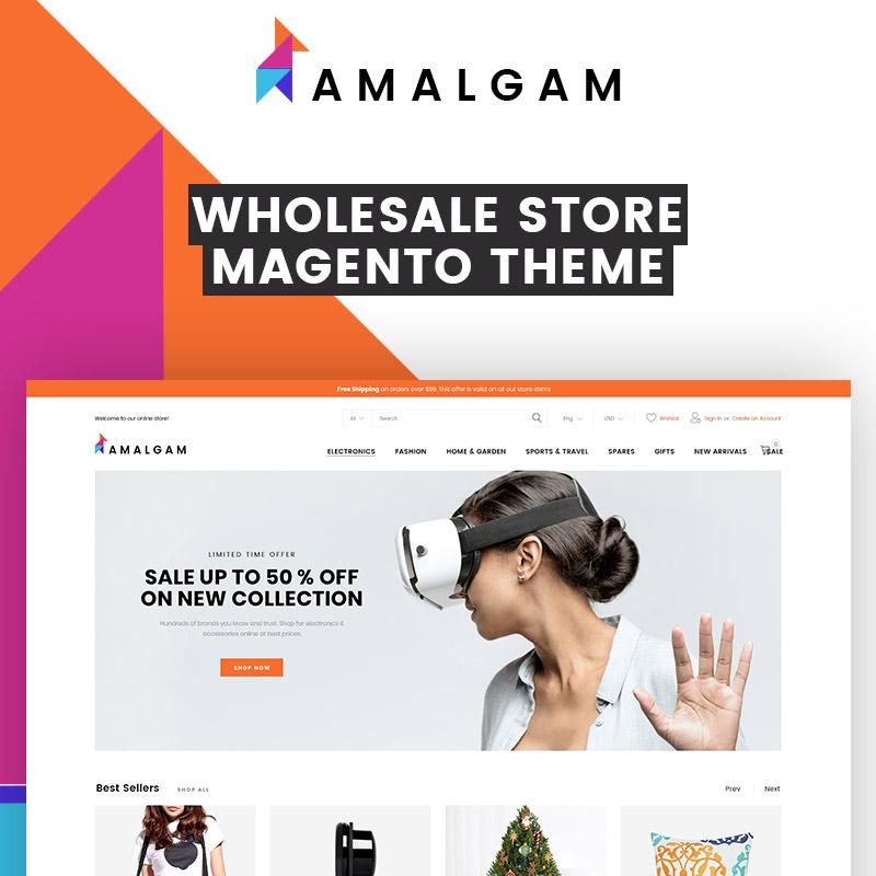Amalgam – Thème Magento pour magasins de vente en gros