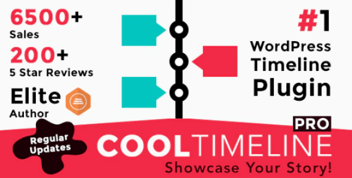 meilleurs plugins WordPress - Cool timeline pro