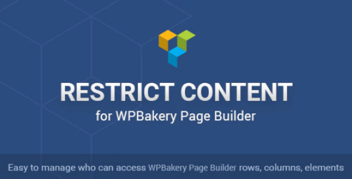 Restrict content for wpbakery page builder by ninjateam codecanyon