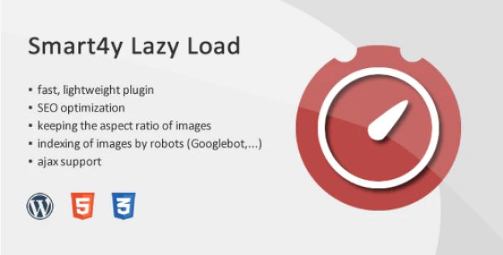 Smart4y lazy load image iframe wordpress plugin wordpress