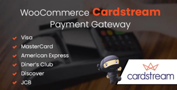Woocommerce cardstream payment gateway plugin wordpress