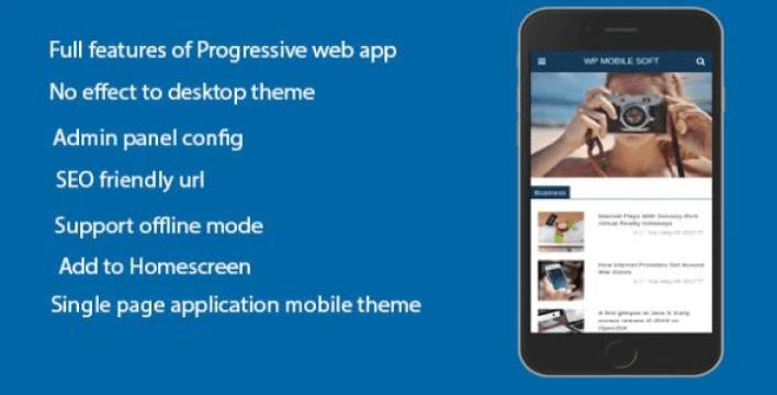 Wordpress mobile soft progressive web application plugin for wordpress on mobile plugin wordpress