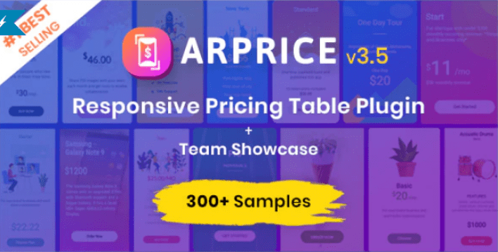Arprice wordpress pricing table plugin wordpress