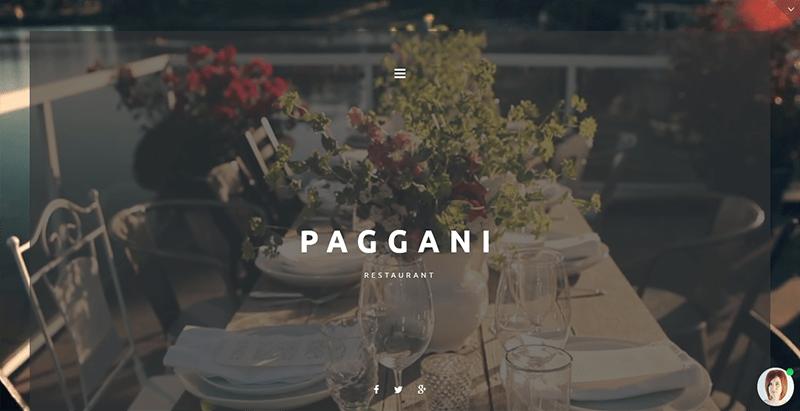 meilleurs thèmes WordPress - Cafe restaurant