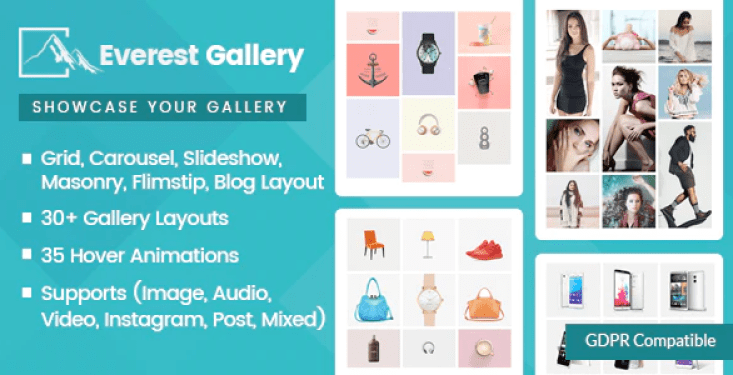 Everest gallery responsive wordpress gallery plugin wordpress