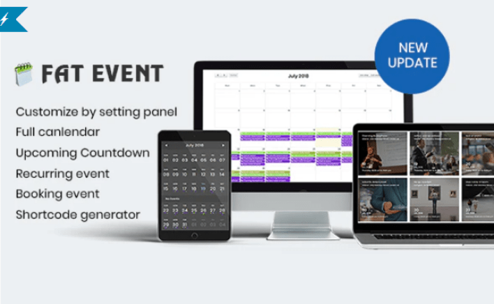 Fat event wordpress event and calendar booking plugin wordpress