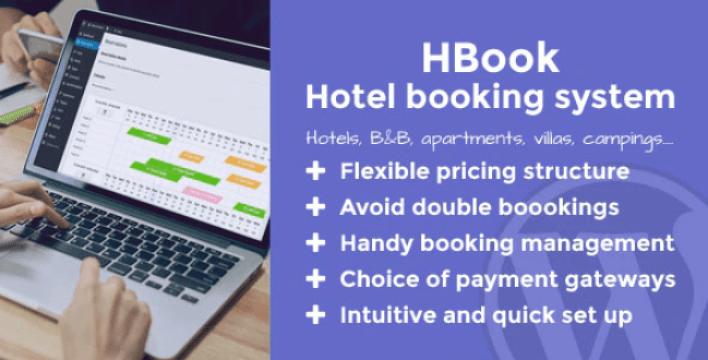 Plugin wordpress hệ thống đặt phòng khách sạn Hbook của maestrel codecanyon