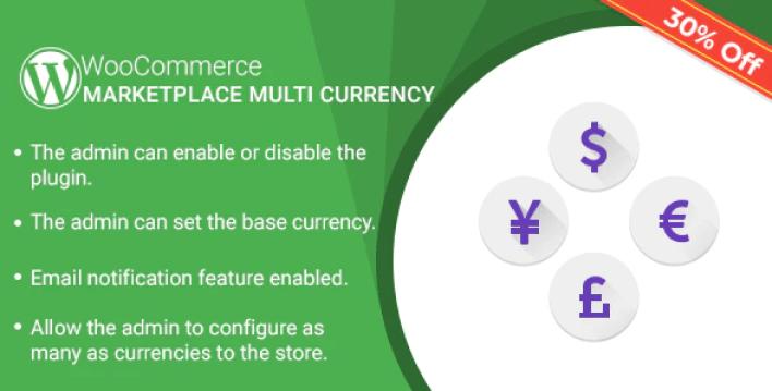 Marketplace multi currency plugin for woocommerce plugin wordpress