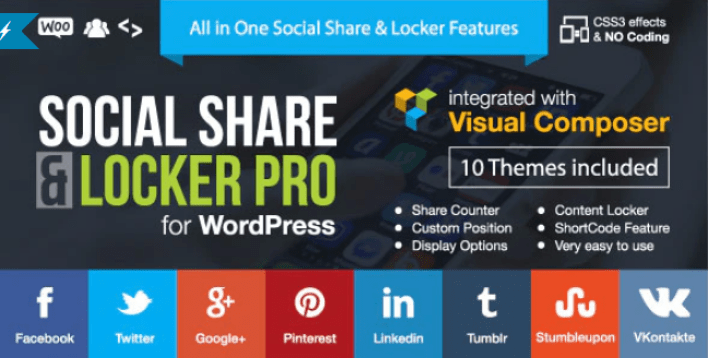 Social share locker pro wordpress plugin