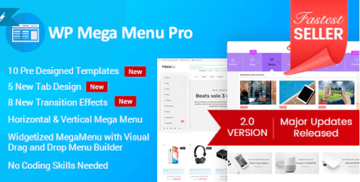 Wp mega menu pro responsive mega menu plugin wordpress