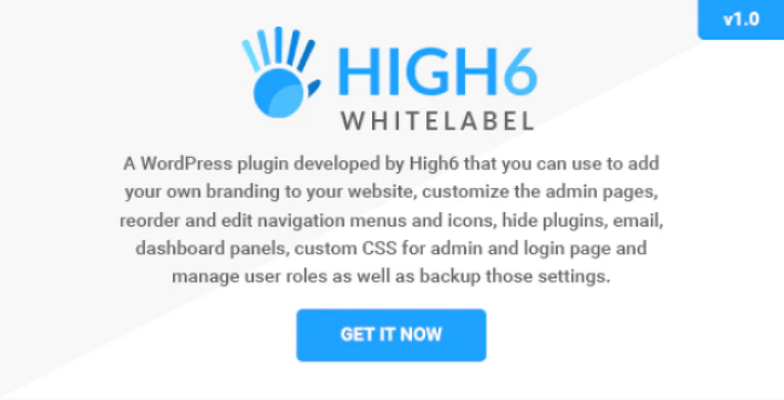 Whitelabel wordpress admin and login wordpress plugin