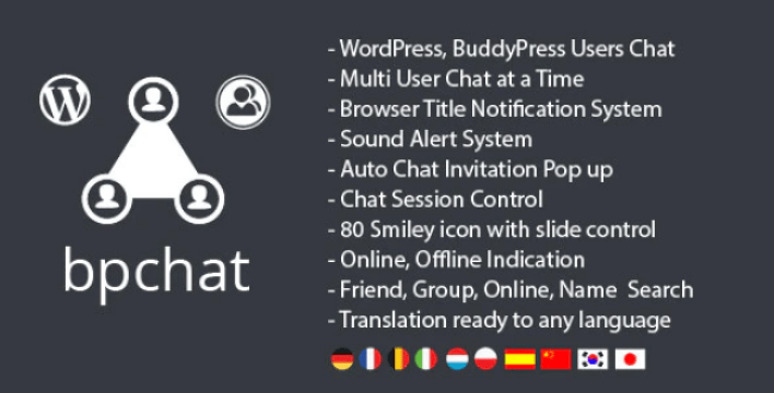 Wordpress buddypress users chat plugin wordpress 1