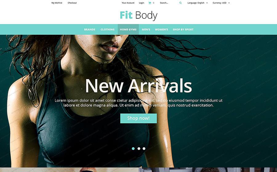 FitBody – Thème Magento gratuit pour site de fitness