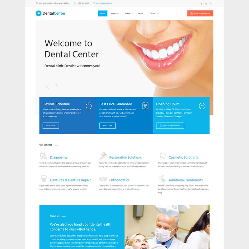 Dentistry WP Theme