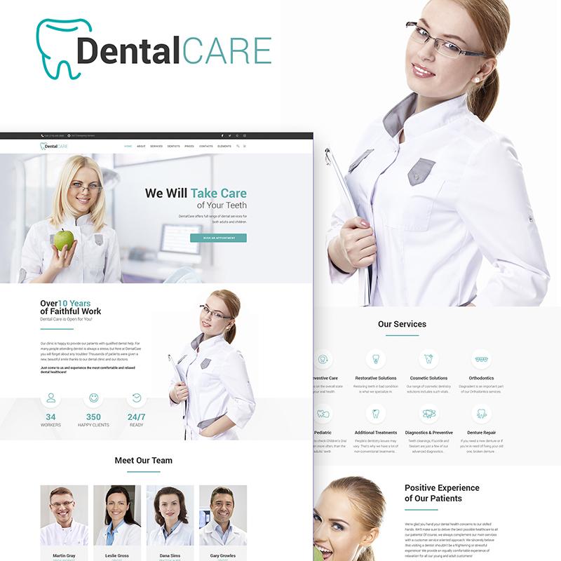 DentalClinic WordPress Theme