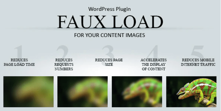 Faux load progressive image loading wordpress plugin wordpress
