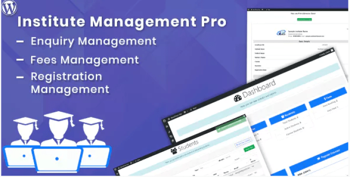 Institute management pro plugin wordpress protection contenu