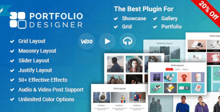 Portfolio designer wordpress portfolio plugin wordpress 1