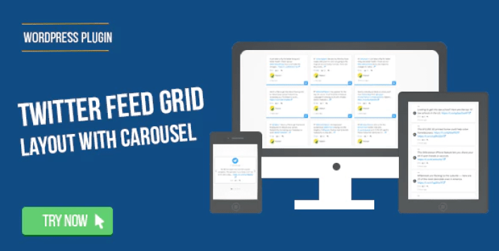 Twitter Feed Grid With Carousel for WordPress plugin