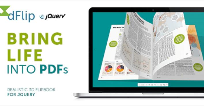 Dflip pdf flipbook jquery plugin wordpress