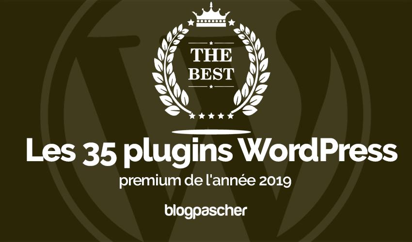 Plugin Wordpress Année 2019