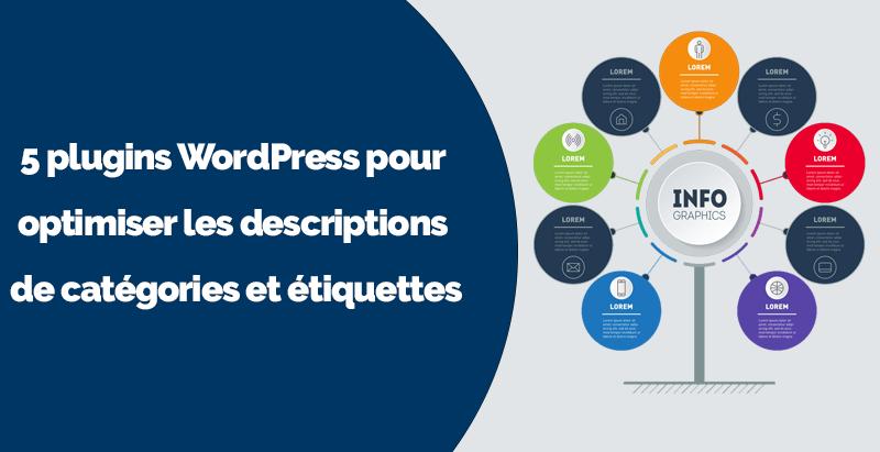 Plugins wordpress descriptions categories tags