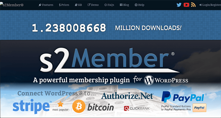 S2member plugin wordpress protection contenu