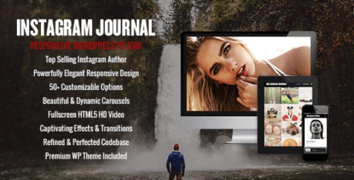 meilleurs plugins WordPress - Instagram journal