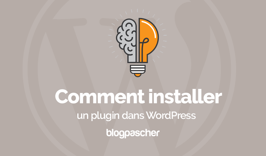 Comment Installer Plugin Wordpress